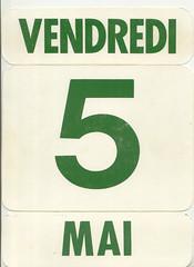 calendrier  5