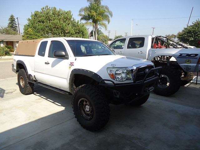 Tacoma 2WD to 4WD Swap