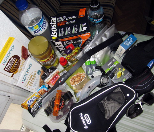"""Running gear and supplements for #42km"""