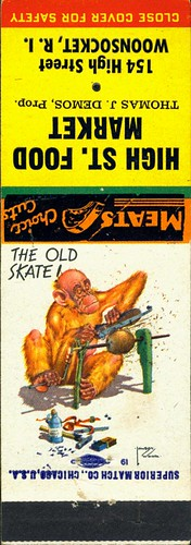 Matchbooks Lawson Wood - The Old Skate