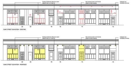 Duke street flat plan