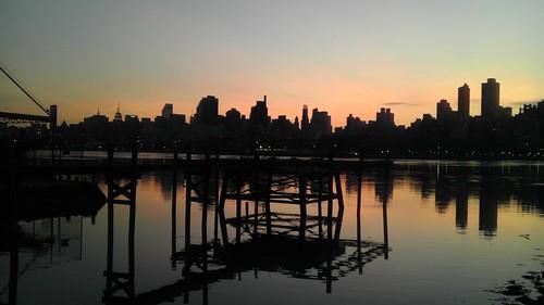 Hallet's Cove Astoria Sunset