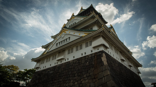 Osaka Castle Clouds