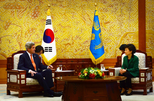 Secretary Kerry Meets With South Korean President Park Geun-hye by U.S. Department of State