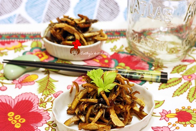 丁香魚豆干 Fried Anchovy with Bean Curd 1
