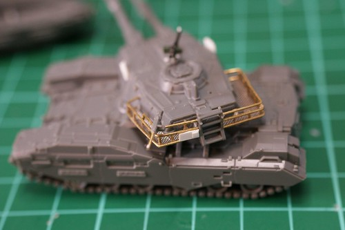 U.C. HARDGRAPH 1/144 - Type 61 A5 Main Battle Tank - WiP 3 -