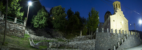 architecture square village macedonia amphitheater balkan balcans galicnik галичник galičnik