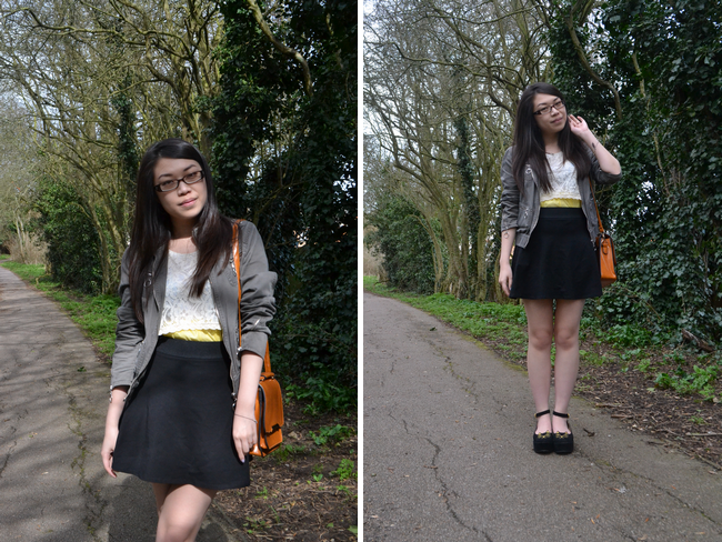 daisybutter - UK Style and Fashion Blog: what i wore, ootd, fashion blogger, british style, casual cool, street style, uk fashion, yeswalker, zara, miss selfridge