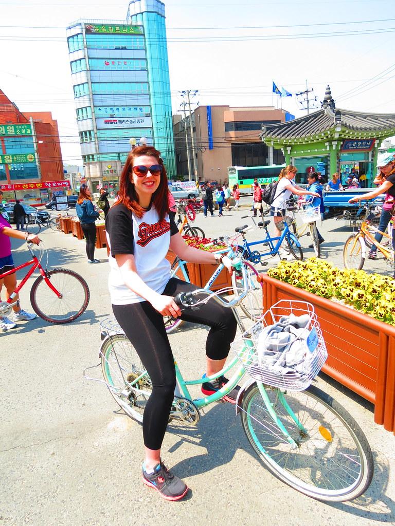 Korean Rental Bike