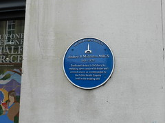 Photo of Andrew B Middleton blue plaque