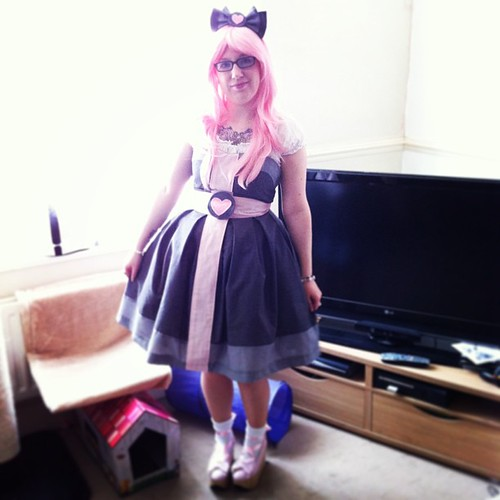 Companion Cube Dress - Worn