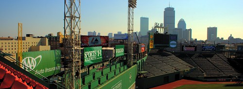 Skyline from Fenway