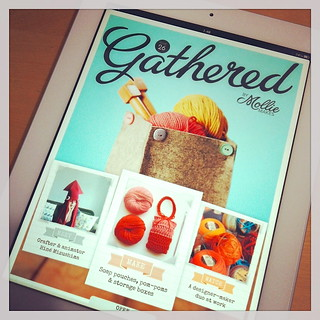"My Interview with British Craft Magazine ""Gathered by Mollie Makes"""