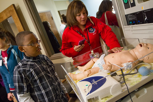 3rd Grade KEY students visit Nursing Simulation Center