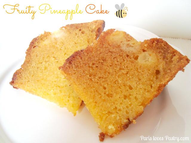 果味菠萝蛋糕