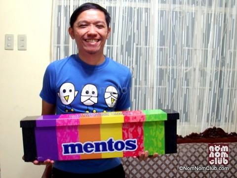 Mentos Rainbow Mystery Box