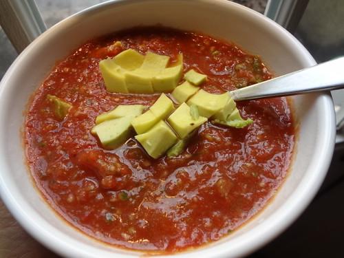 My gazpacho