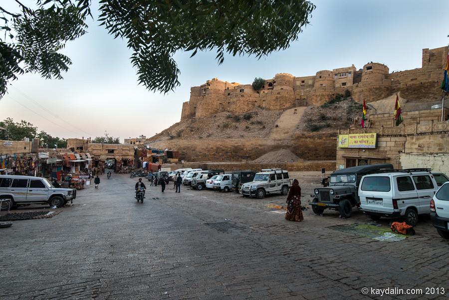 Форт в Джайсалмере, Индия