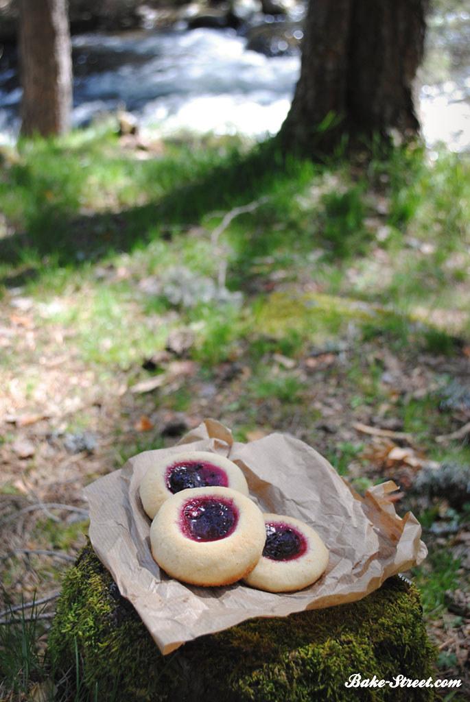 La cesta de Caperucita Roja: Galletas de almendra con limón o moras ...