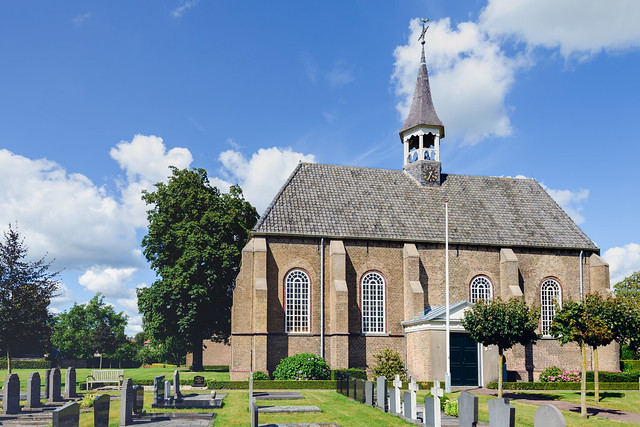 Protestant Church in the Dutch village of Made