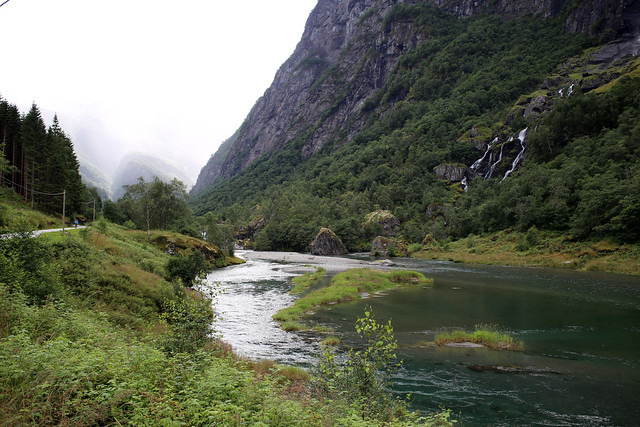 The Flam Valley near Flåm