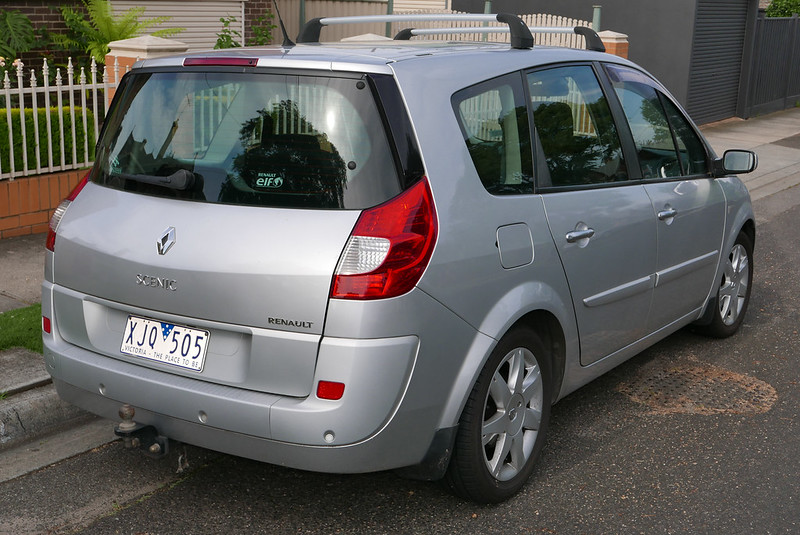 renault grand scenic 1 5 dci authentique 2007. Black Bedroom Furniture Sets. Home Design Ideas