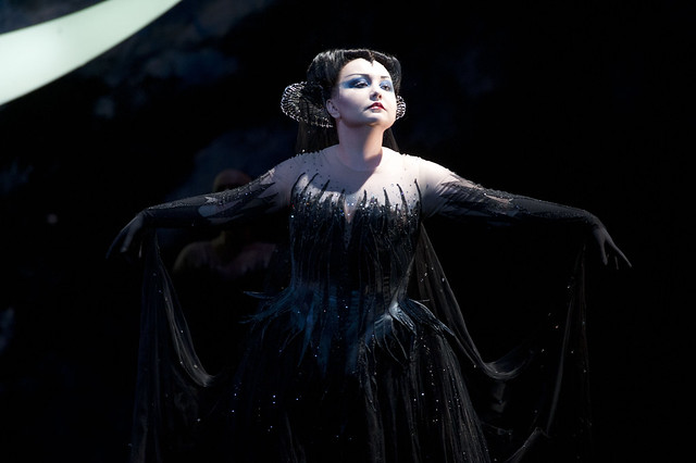 Albina Shagimuratova as the Queen of the Night in Die Zauberflöte, The Royal Opera © ROH/Mike Hoban, 2013