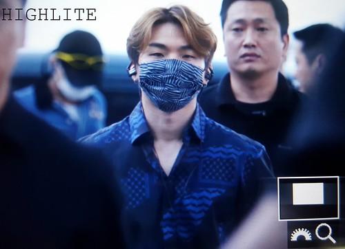 BIGBANG departure Seoul to Macao 2016-09-03 (8)