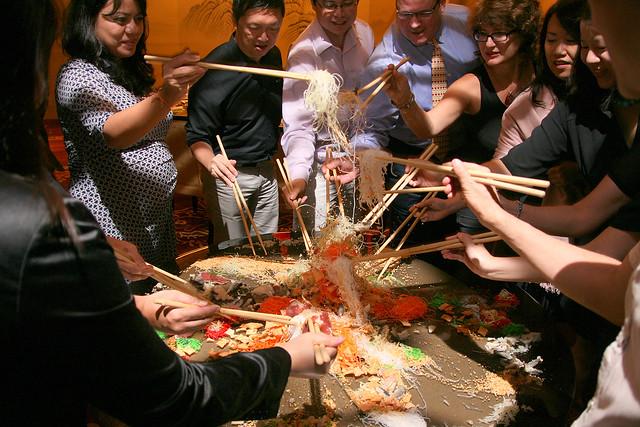 Lo-Hei at Hai Tien Lo