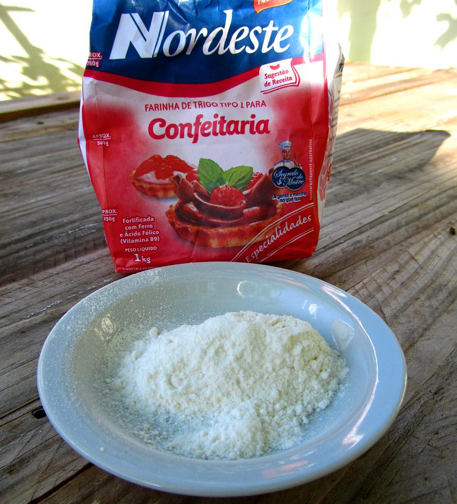 Farinha de trigo Nordeste especial Confeitaria