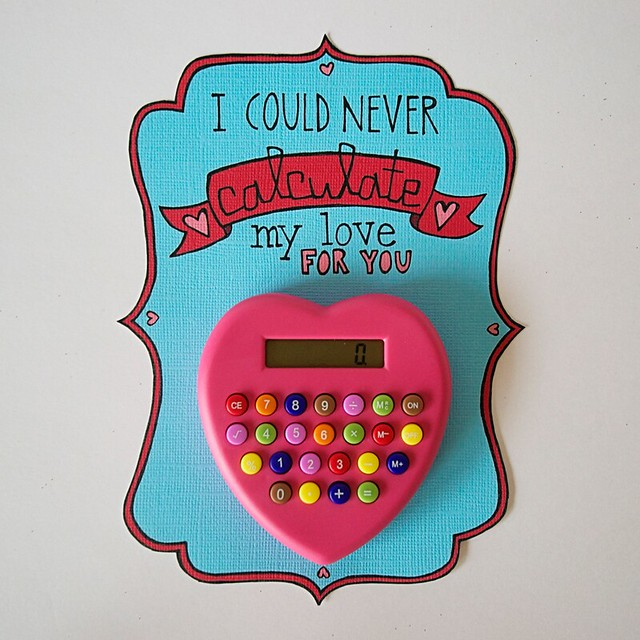 calculator valentine