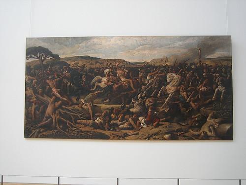 IMG_8325 - IMG_8326 - La Bataille de Cannes, 1863, François-Nicolas Chifflart, Petit Palais, Paris