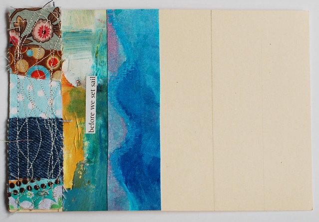 Ocean Layers Postcard