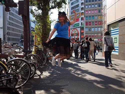 Jump in Shinjuku!