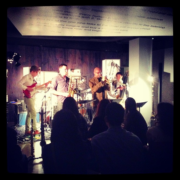 Blue Whale. Daniel Rosenboom Quintet. Awesome.