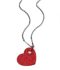 Your Fashion Jewellery - Red Heart Loop Necklace