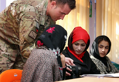 Women's photojournalism course in Farah City, Afghanistan