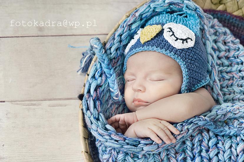 zdjęcia noworodkowe w Grudziądzu-leoś