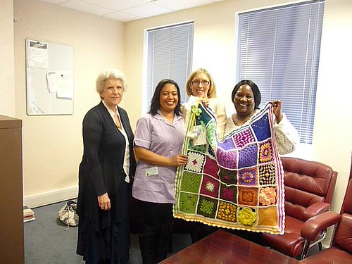 Clarence Care receiving 6 Blankets today! ~Thanks to everyone!