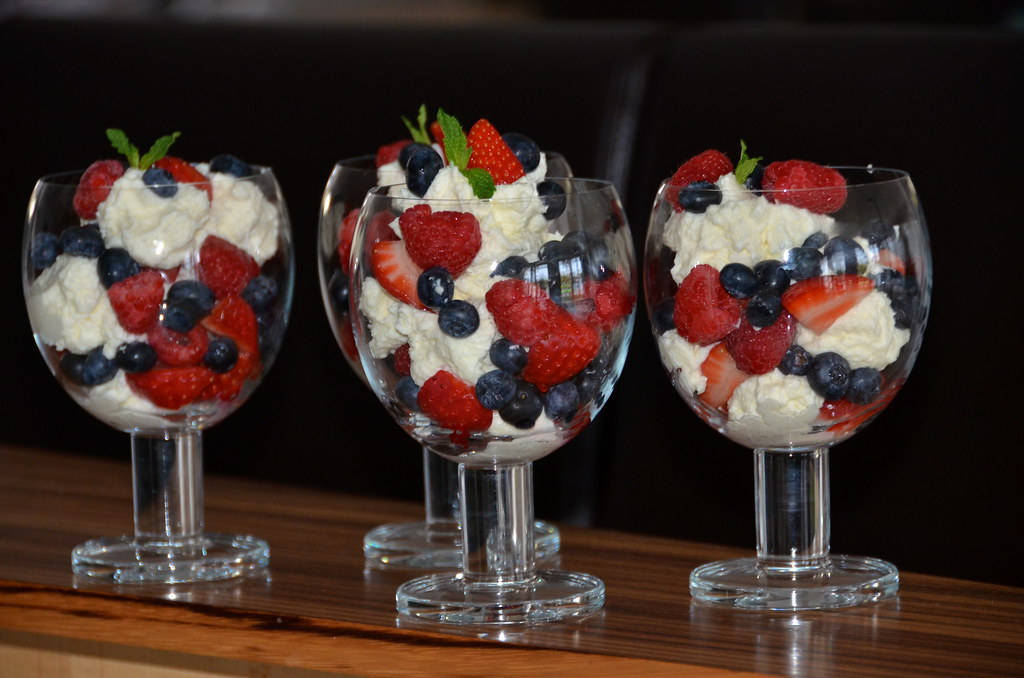Berries and Cream recipe