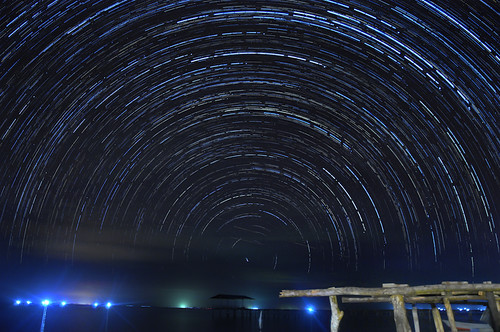 startrail by mkajunai