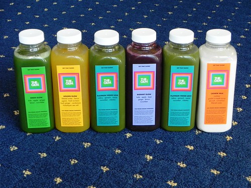 Juice cleanse review the gem chef amber shea arrival the first two days worth of juice were delivered to my hotel around 1000am the day i began the cleanse and they delivered the last days worth malvernweather Images