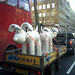 """eeeeeeee Gromit 1, watch out for those cyclists..and Grommit 2...those yellow box junctions"""