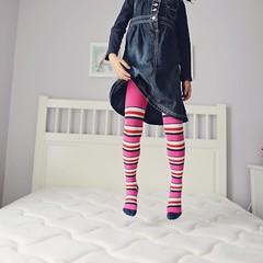 stripey legs