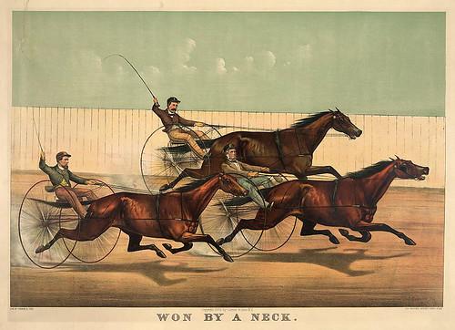 018-Imagen carreras caballos trotones-Library of Congress