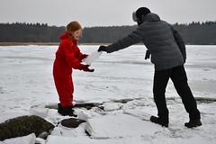 Ingeborg with ice