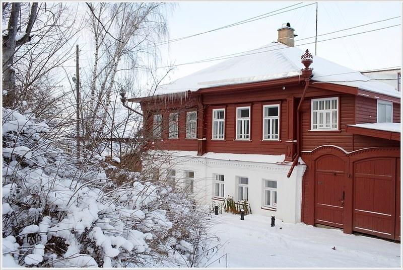 Дом Белышевых.