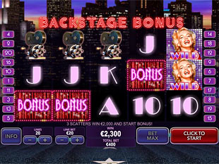 free Marilyn Monroe bonus game