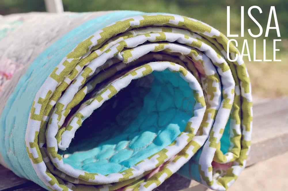 Micah's Quilt | Binding