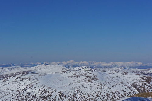 Ben Nevis from the summit of Meall Garbh